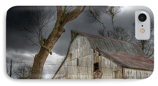 A Barn In The Storm 2 IPhone Case