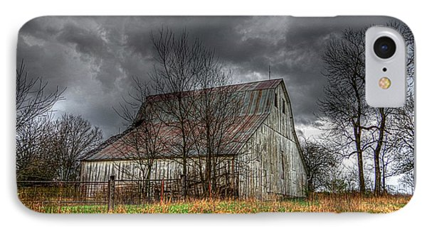 A Barn In The Storm 3 IPhone Case