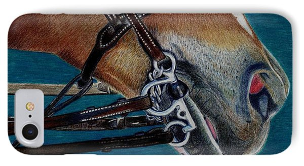 A Bit Of Control - Horse Bridle Painting IPhone Case