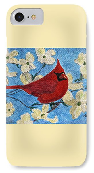 A Cardinal Spring IPhone Case