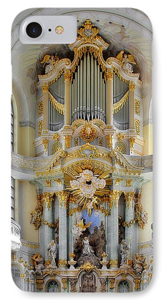 A Church Filled With Music - Church Of Our Lady Dresden IPhone Case