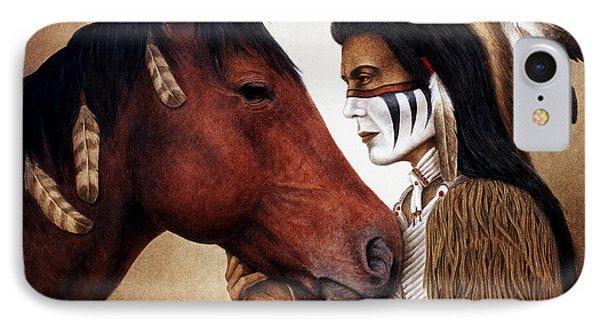 Horse iPhone 8 Case - A Conversation by Pat Erickson