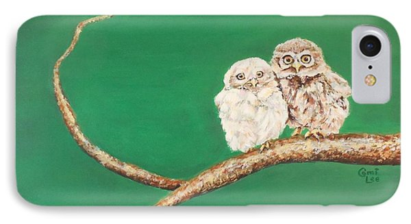 A Couple Of Owls IPhone Case