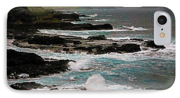 A Dangerous Coastline IPhone Case