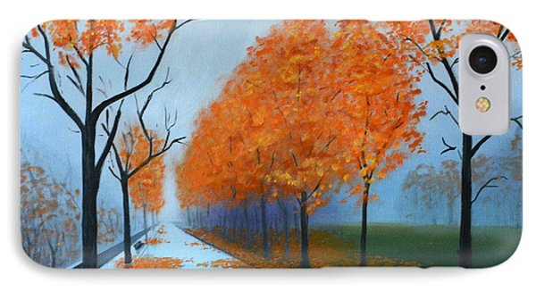 A Fall Morning IPhone Case
