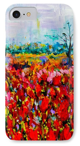 A Field Of Flowers # 2 IPhone Case