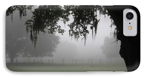 A Foggy Day In Rural Fl IPhone Case