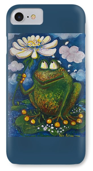 Frog In The Rain IPhone Case