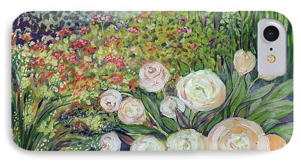 Impressionism iPhone 8 Case - A Garden Romance by Jennifer Lommers