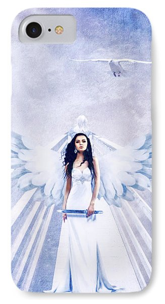 A Guardian Angel Will Attend Thee All Through The Night IPhone Case
