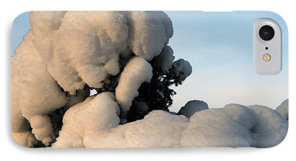 A Lick Of Snow On The Bush IPhone Case