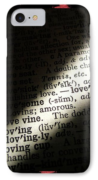 A Light On Love IPhone Case