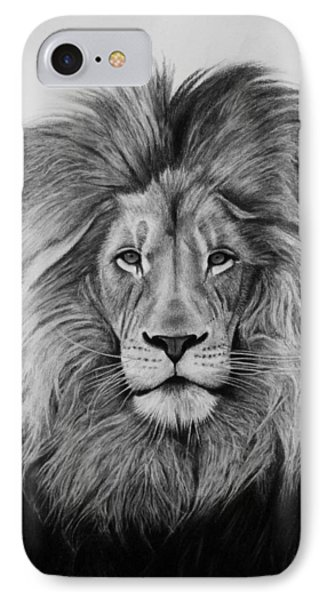 A Majestic Stare IPhone Case