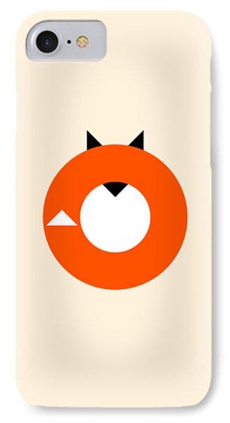 A Most Minimalist Fox IPhone Case