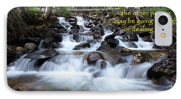 A Mountain Stream Situation IPhone Case