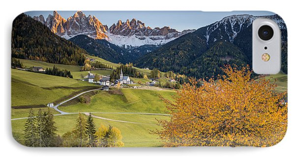 A Night In Dolomites IPhone Case