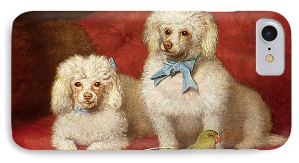 A Pair Of Poodles IPhone Case