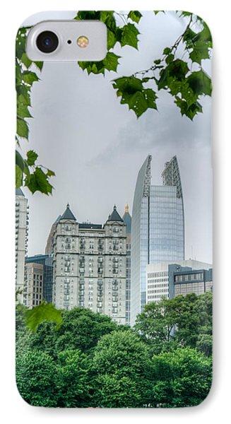 A Peek At The Atlanta Skyline IPhone Case