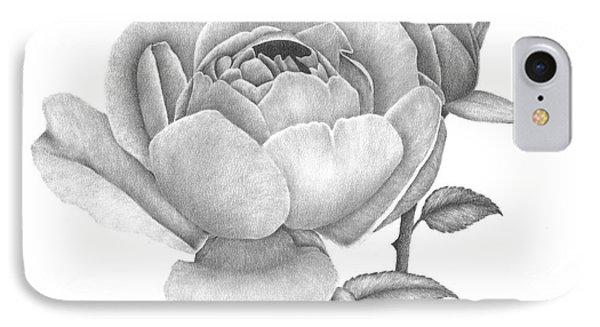 A Rose Bloom IPhone Case