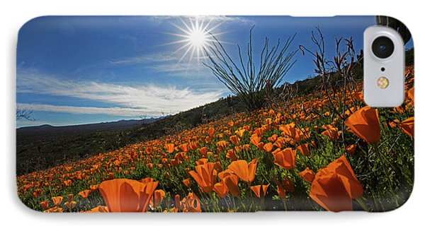 A Sea Of Poppies IPhone Case