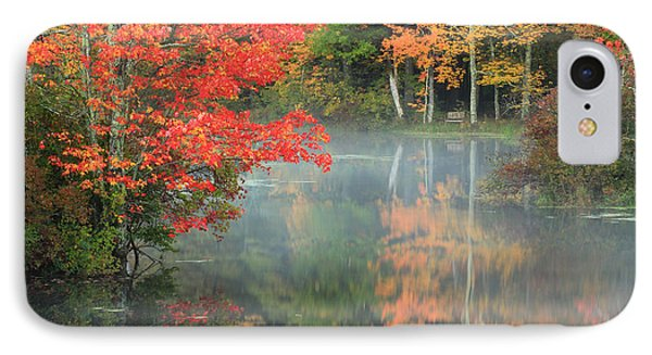 A Seat To Watch Autumn IPhone Case