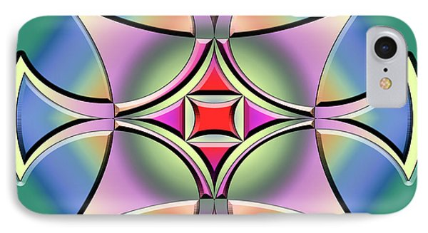 IPhone Case featuring the digital art A Splash Of Color 4 by Chuck Staley