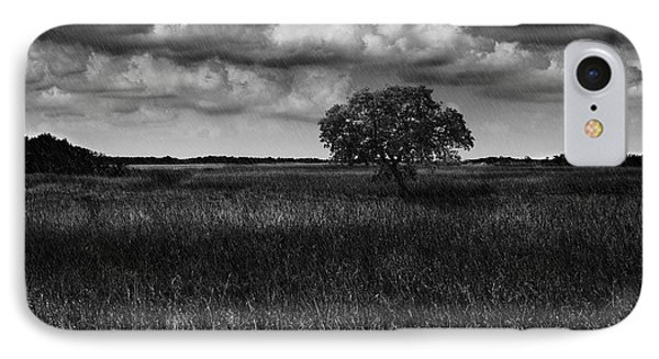 A Storm Is Coming To Wyoming Grasslands IPhone Case