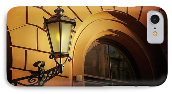A Street Lamp In Lisbon Portugal  IPhone Case