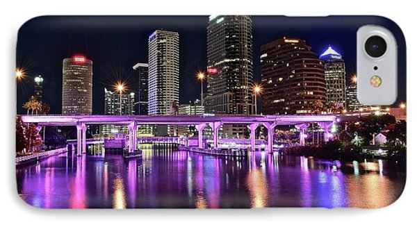 A Tampa Night IPhone Case