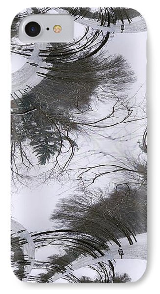 A Tree Fractal IPhone Case