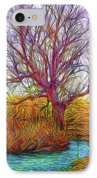 A Tree Greets Springtime IPhone Case