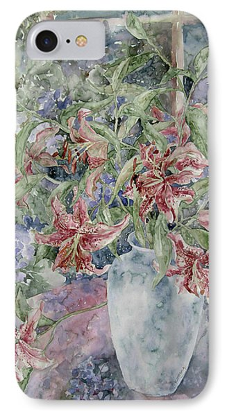 A Vase Of Lilies IPhone Case
