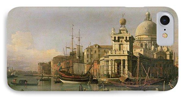 A View Of The Dogana And Santa Maria Della Salute IPhone Case