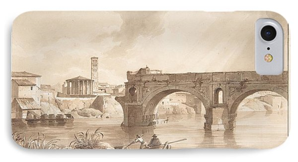 A View Of The Tiber From The North Bank IPhone Case