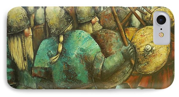A Viking Skirmish IPhone Case
