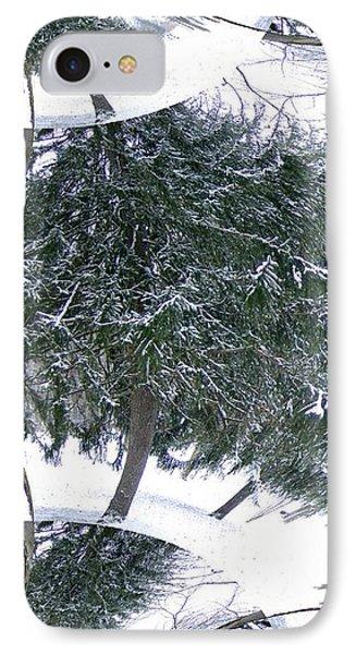 A Winter Fractal Land IPhone Case
