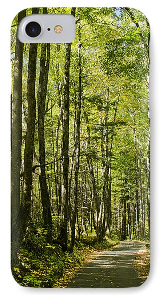 A Woodsy Trail IPhone Case