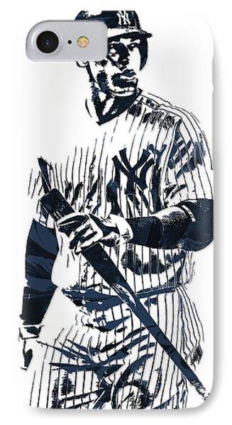 Aaron Judge New York Yankees Pixel Art 12 IPhone Case