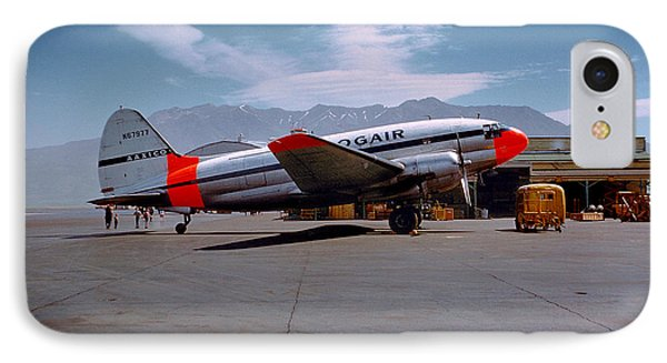 Aaxico Ch-28 Logair Curtiss C-46 Commando N67977,  IPhone Case