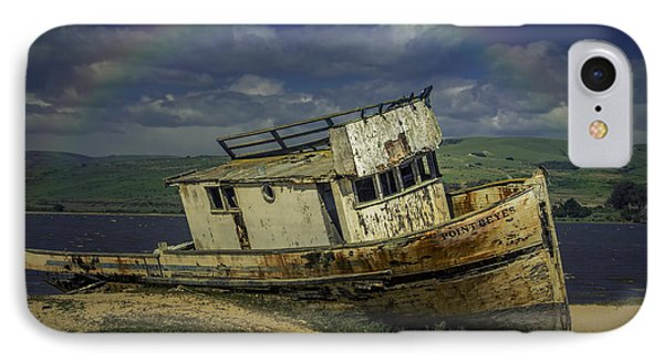 Abandonded Old Boat IPhone Case