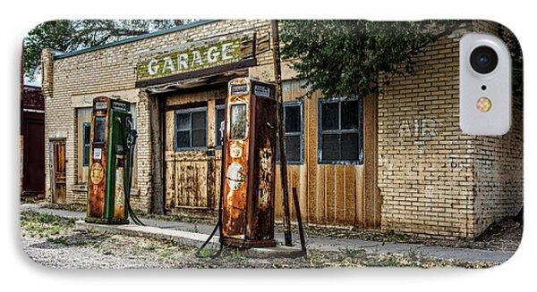 Abandoned Garage IPhone Case