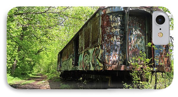 Abandoned Train Car IPhone Case