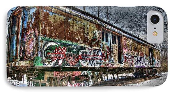 Abandoned Train IPhone Case