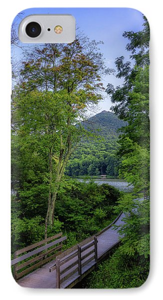 Abbott Lake Trail IPhone Case