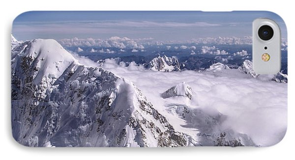 Above Denali IPhone Case