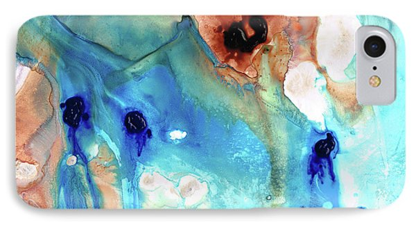 Abstract Art - The Journey Home - Sharon Cummings IPhone Case
