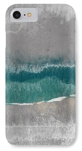 Abstract Beach Landscape- Art By Linda Woods IPhone Case