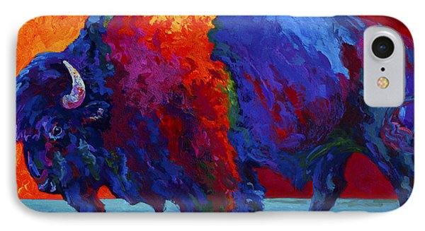 Abstract Bison IPhone Case