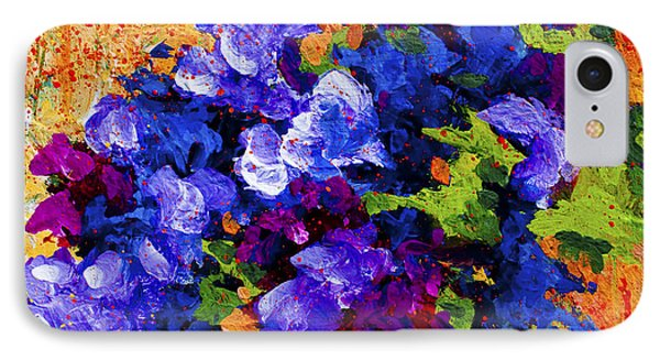 Daisy iPhone 8 Case - Abstract Boquet 3 by Marion Rose