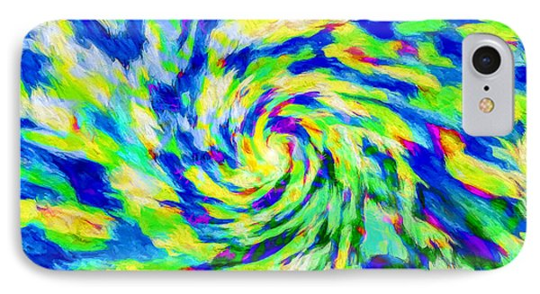 Abstract - Category 5 IPhone Case